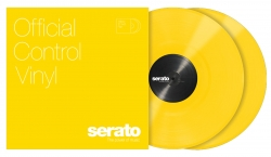 SERATO PRESSINGS SCV-PF-YEL-OV Performance Series Yellow Vinyl - PAIR