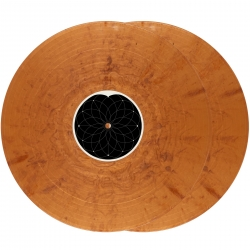 "SERATO PRESSINGS SCV-SP-071-G1 Sacred Geometry Iridescent Copper 12"" Control Vinyl - PAIR SCV-SP-071-G1"