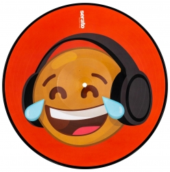 SERATO SCV-PS-EMJ-4 Emoji Series Control Vinyl - #4 Thinking/Crying