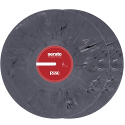 "SERATO PRESSING SCV-SP-RN-12  12"" Marbled Grey Control Vinyl - PAIR SCV-SP-RN-12"