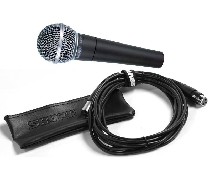 Shure Mic Cables : Shure sm cn cardioid dynamic vocal microphone with xlr