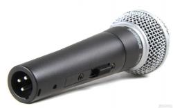 SHURE SM58S Cardioid Dynamic Vocal Microphone with On/Off Switch SM58S
