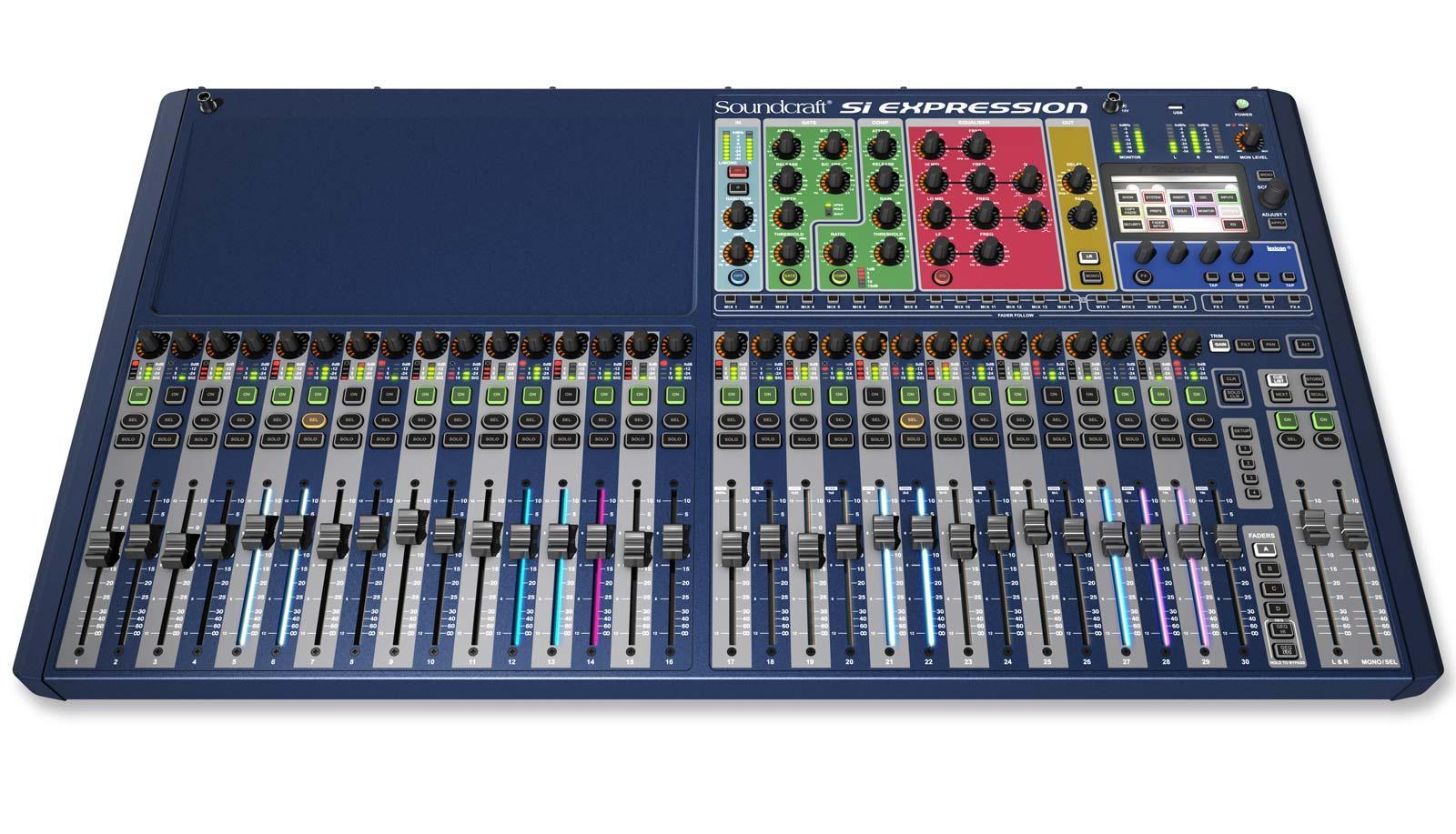 soundcraft si expression 3 32 channel digital live sound mixing console agiprodj. Black Bedroom Furniture Sets. Home Design Ideas