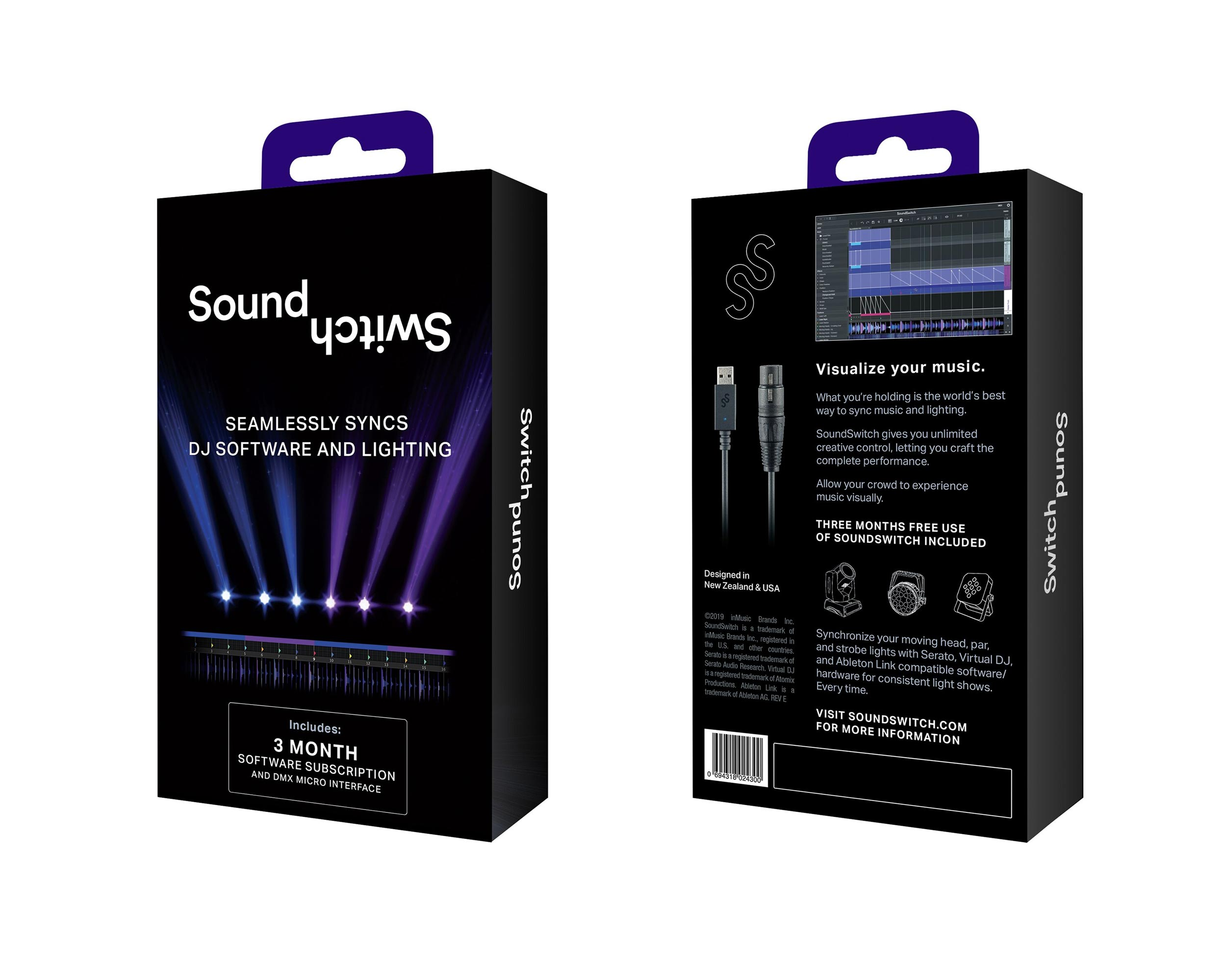 SoundSwitch Micro-DMX Interface