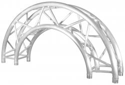 TRUSST CT290-415CIR-180 Truss Arc 180-Degree 4.9Ft (1.5m) Outside Diameter CT290-415CIR-180