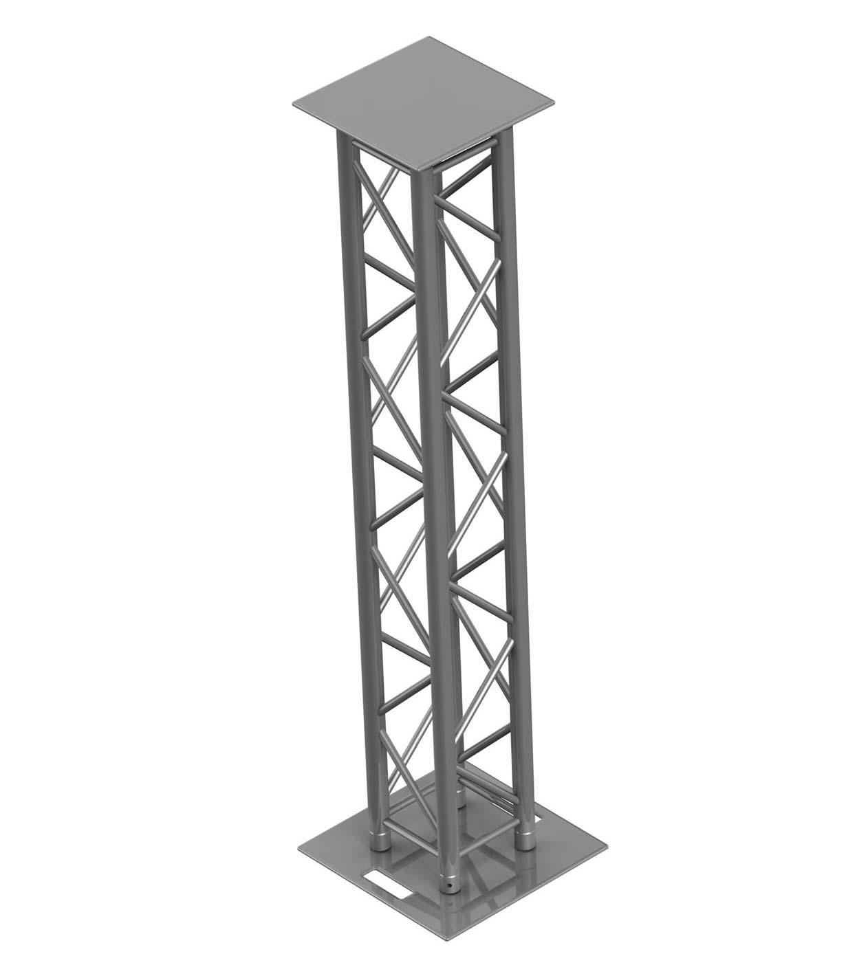 Trusst kt ct290 420t truss totem stand package 2 for Totem stand