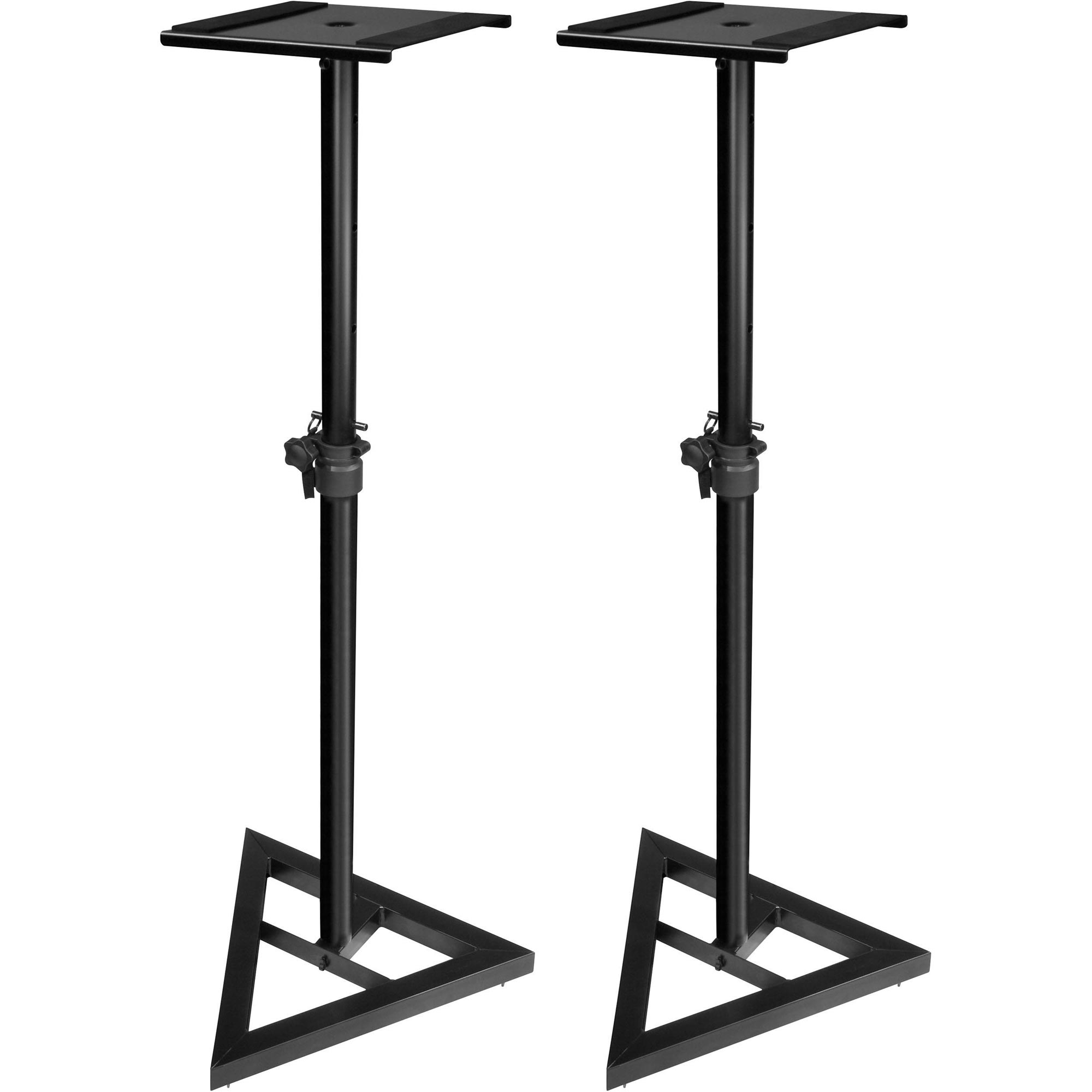 Ultimate Support Js Ms70 Adjustable Monitor Stand Pair