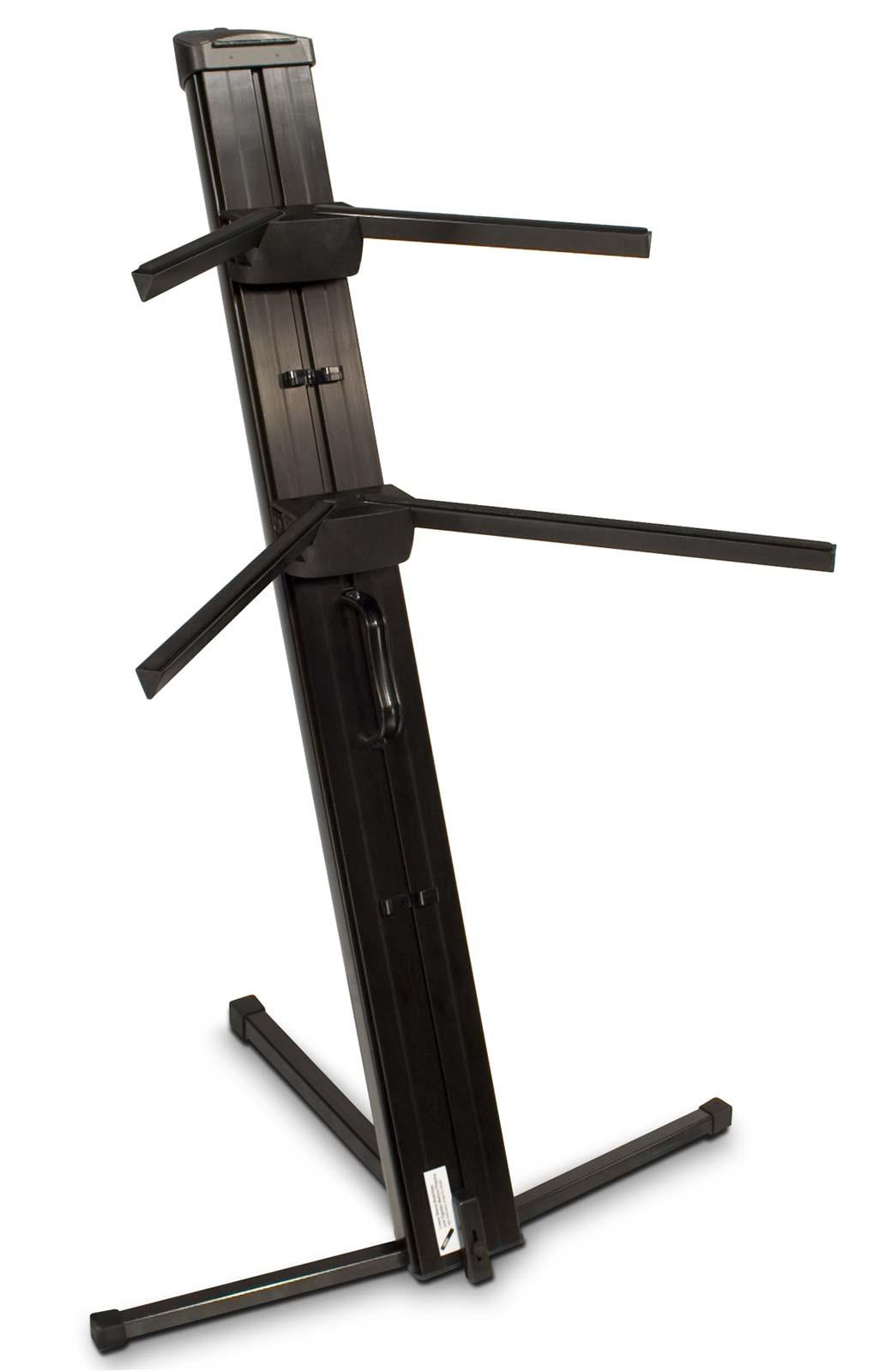 ultimate support apex ax 48 pro 2 tier keyboard stand black agiprodj. Black Bedroom Furniture Sets. Home Design Ideas