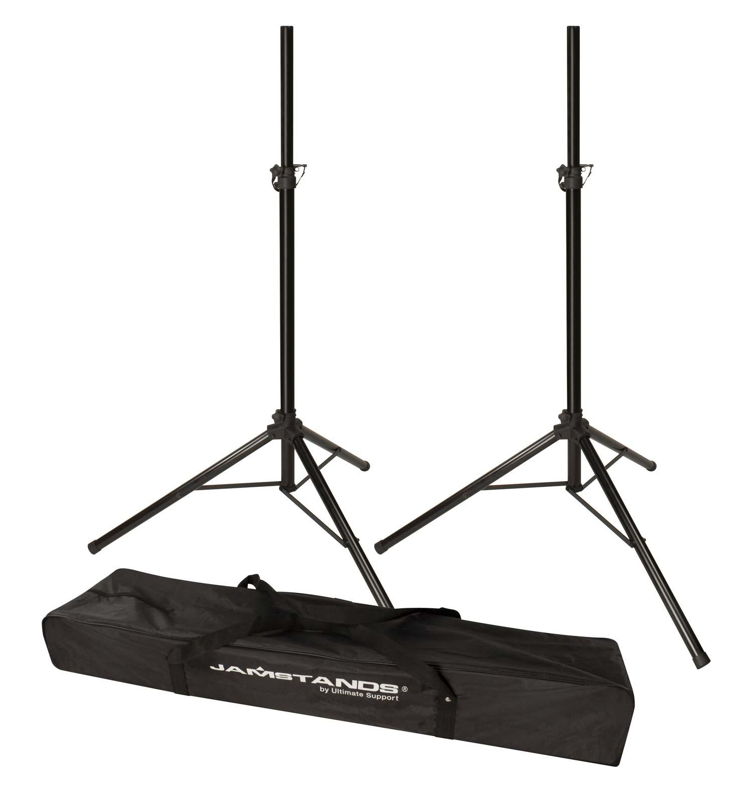 ultimate support js ts50 2 jamstands tripod speaker stand pair agiprodj. Black Bedroom Furniture Sets. Home Design Ideas