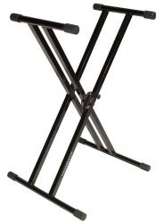 ULTIMATE SUPPORT IQ-2000 150Lb Double-Braced Keyboard Stand IQ-2000