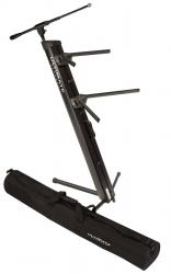 ULTIMATE SUPPORT APEX AX-48 PRO PLUS 2-Tier Keyboard Stand with Mic Boom and Tote Bag APEX AX-48 PRO PLUS