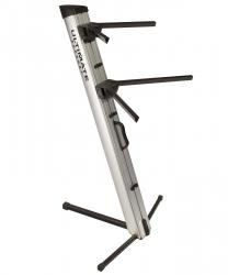 ULTIMATE SUPPORT APEX AX-48 PRO 2-Tier Keyboard Stand - Silver AX-48 PRO