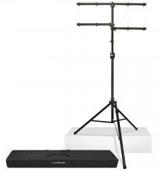 ULTIMATE SUPPORT LT-99BL Complete Lighting Stand Package with Bag LT-99BL