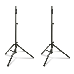 ULTIMATE SUPPORT TS-100B Pair BOGO Tripod Speaker Stands - while supplies last TS-100B Buy One Get One Free