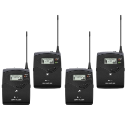 SENNHEISER Wireless Speaker System 3 - Two Bodypack Transmitters, Two Portable Receivers WIRELESS SPEAKER SYSTEM 3