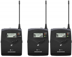 SENNHEISER Wireless Speaker System 5 - One Bodypack Transmitter, Two Portable Receivers WIRELESS SPEAKER SYSTEM 5