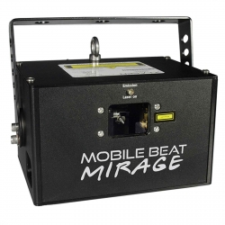 X-LASER MOBILE BEAT MIRAGE FULL COLOR RGB ILDA LASER 30k SCANNERS MOBILE BEAT MIRAGE RGB ILDA LASER