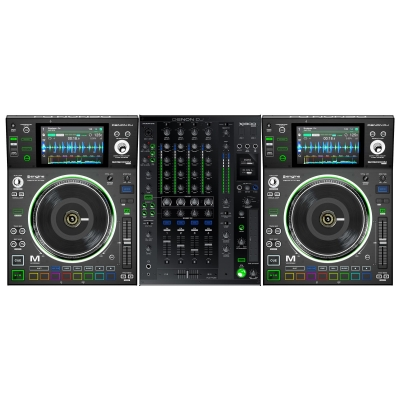 DENON DJ 2 SC5000M + X1800 MIXER - Customer Return