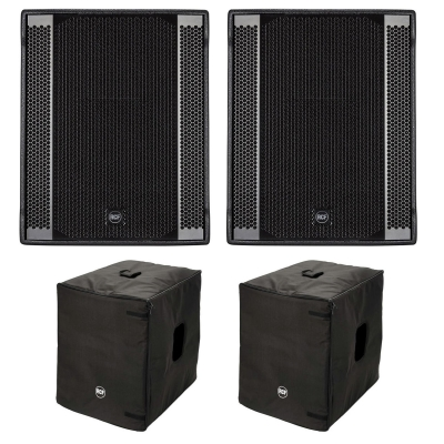 RCF 2 SUB 708AS-II Free Cover Bundle