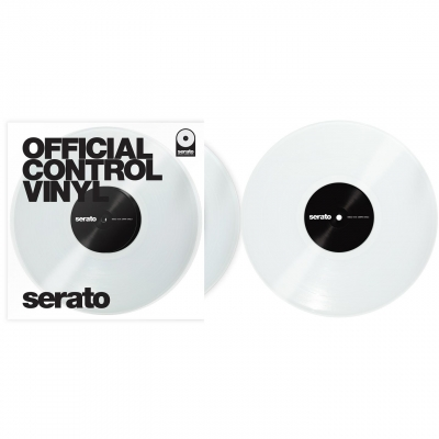 SERATO Performance Control Vinyl (Pair) Clear
