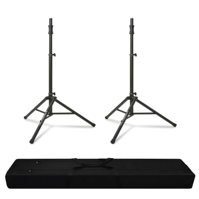 Ultimate Support Ts 100b Tripod Stands Pair Deluxe Bundle