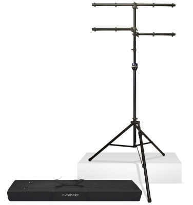 Ultimate Support Lt 99bl Complete Lighting Stand Package