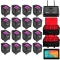 CHAUVET DJ 16 FREEDOM PAR HEX-4 BUNDLE + FLARECON AIR - 2 BRLPAR BAG & ANDROID TABLET